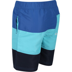 Regatta Shaul III Board Shorts Kids, washed azure/nautical blue